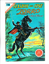 Clasicos Del Cine  No.249 1971 Spanish Walt Disney Zorro Double Cover!