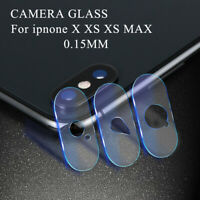 Glass Screen Film Protector Back Camera Lens Cover Phone For iPhone X XS Max XR