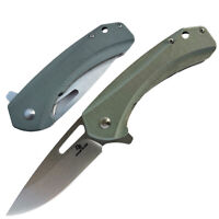 Ball Bearing D2 Blade G10 Handle Folding Knife Saber Liner Lock Survival Sharp