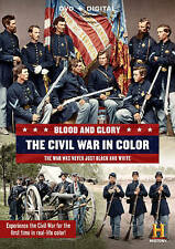 Blood and Glory: The Civil War in Color DVD, 2015, 2-Disc Set