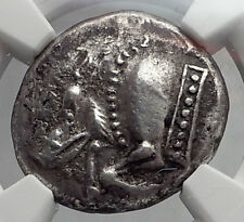 DYNASTS of LYCIA Archaic 520BC Stater Boar Ancient Silver Greek Coin NGC i61905