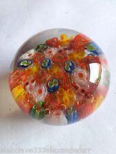 PISAPAPELES de Cristal Piezas de Colores Decorativo Colección
