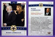 Decision 2020 Trading Cards PRESIDENTIAL MEDAL OF FREEDOM Rush Limbaugh #PMOF 14