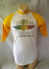 True Vintage Indianapolis 500 Tee Shirt Jersey 64th Running 1980 Large