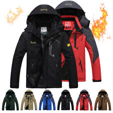 Men's Coat Ski Snow Climbing Hiking Sports Jacket Waterproof Outdoor Winter Warm
