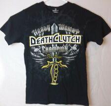 Brock Lesnar Death Clutch Heavyweight Champion T Shirt Large Black