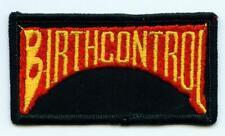 BIRTHCONTROL Aufnäher  Patch Sammlerstück Gamma Ray x