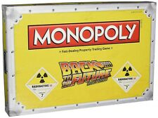 Hasbro Monopoly Back To The Future Trilogy Edition Family Board Game BRAND NEW