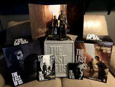 Last of Us Post Pandemic Edition PS3 Ellie Joel Statue Steelbook Comic Packaging