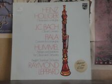 HEINZ HOLLIGER OBOE AND COR ANGLAIS, LEPPARD - LP 839 756 LY