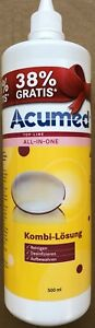 Acumed Kombilösung  Kontaktlinsenpflegemittel  500 ml Flasche 1,98 Euro/100ml