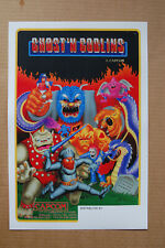 Ghost n Goblins Arcade Flyer Video Game promotional poster __