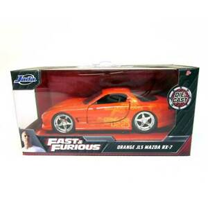 Jada Fast & Furious: Orange Julius Mazda RX-7 1/32 Scale