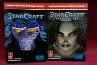 Starcraft Prima Official Strategy Guide + Brood War Expansion Set Strategy Guide