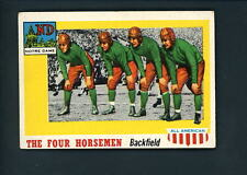 1955 Topps All American # 68 The Four Horseman EX cond Notre Dame