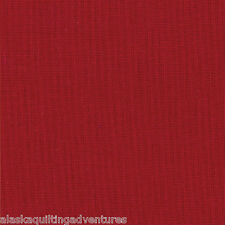 MODA Fabric ~ BELLA SOLIDS ~ (9900 17) Country Red - by the 1/2 yard