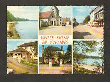 VIEILLE-EGLISE-en-YVELINES (78) MAIRIE-ECOLE , MAISON DE SANTE , COMMERCE ...