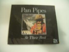 AT THEIR BEST  - PAN PIPES - COMPILATION 2 CD.