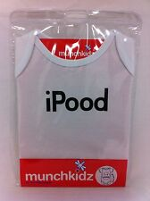 iPood Baby Growsuit Newborn Kids Size 3-6 Months Bub Toddler Babies New