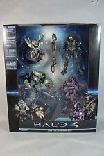 NEW HALO 4 COLLECTOR BOXED SET 4 ACTION FIGURES