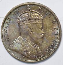 Hong Kong 1905 50 Cents AU H0196 combine