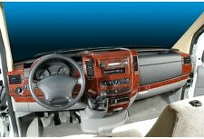 Cockpitdekor für VW CRAFTER Modelle Bj.ab 2006 Wurzelholz Look 50 tlg Mega Set