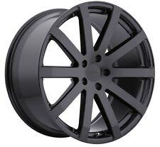 17x8 TSW Brooklands 5x114.3 +40 Matte Black Rims Fits Civic Mazda 3 6 TC 2010+