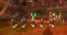 WOW Warcraft Loot Code Anbindepfosten des Kampftrupps War Party Hitching Post