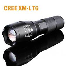 12000LM CREE XM-L T6 Zoomable Flashlight LED Surper Bright Light Torch Light