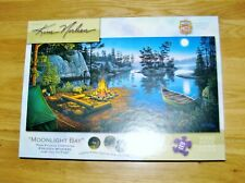 """Master Pieces 1000 Piece """"Moonlight Bay"""" Jigsaw Puzzle"""
