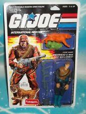 G I Gi Joe Intntl Point Man & Bobcat Spearhead & Max Figure Moc Russian Funskool
