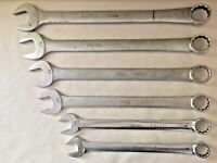 Snap-On Combination Wrenches - OEX-34 OEX-36 OEX-42 OEX-44 OEX-46 OEX-48 - 6 lot