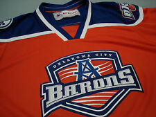 CCM  Oklahoma City  okc BARONS Hockey Jersey  SEWN  XL Edmonton Oilers