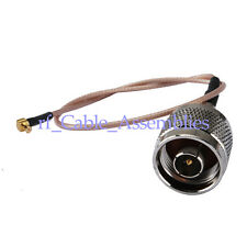 UMTS Antenna Pigtail Cable N plug MCX RG316 15cm for Broadband Router Ericsson
