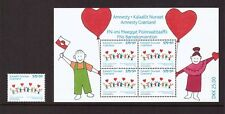 Greenland MNH 2007 Amnesty Children's Convention set mint stamps SG518