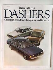 "1978 VW Dasher ""Three different Dashers"" Sales Brochure/Catalog"