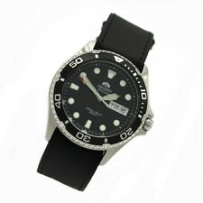 Orient 5 Deep Automatic Tag Date Ray II Diving Watch Men Watch Leather FAA02004B