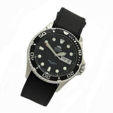 Orient 5 Deep Automático Día Fecha Ray II Reloj Para Buceo de hombre cuero