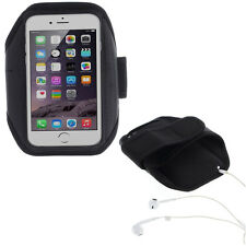 Fascia da braccio bracciale FORO + Cuffie Sport per iPhone 6 PLUS fitness corsa