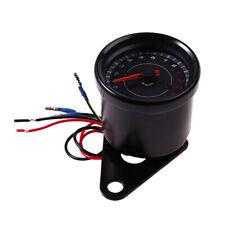 Universal Motorcycle 13000RPM Tachometer Tacho Gauge Led Backlight Black