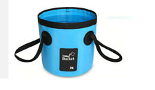 Camping Campers Outdoors Portable Foldable 12L Water Bucket