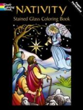 Nativity Stained Glass Coloring Book (Ho
