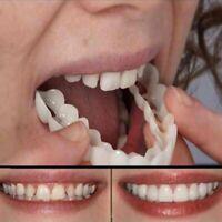 Obere Zähne Comfort Flex Kosmetische Zahnmedizin Prothese Falsche Zähne Instant