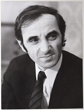 Original VIntage 1960s French actor/singer CHARLES AZNAVOUR by Felicitas Timpe