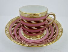 Antique Paris Porcelain Tea Cup & Saucer