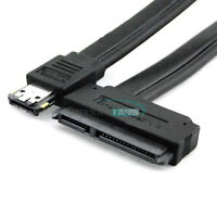 New Power eSATA USB 2.0 5V 12V Combo to 2.5'' 3.5'' 22pin SATA HDD Adapter Cable