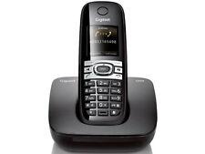 Siemens Gigaset C610H DECT schnurloses Telefon in Schwarz Strahlungsarm gebrauch