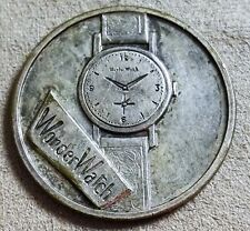 Wonder Watch coin medal gadget mm 31 new in blister - 1960