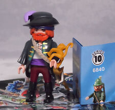 Playmobil 6840 Figures Boys Serie 10, Pirat mit Mantel Äffchen Degen #3 NEU