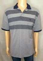 Rodd & Gunn Stripe Print Original Fit Short Sleeve Polo Shirt. Mens Size L